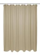Chevron Weave Cotton Shower Curtain - Dark Linen