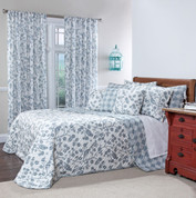 Botanica Reversible Quilted Bedspreads - Mist