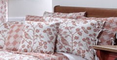 Botanica Reversible Quilted Pillow Sham - Sienna
