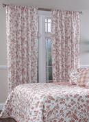 Botanica Rod Pocket Curtain Panel - Sienna