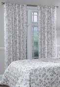 Botanica Rod Pocket Curtain Panel - Stone