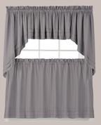 Holden Kitchen Curtain - Grey from Saturday Knight