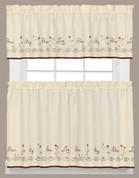 Live Dream Sing Dance Kitchen Curtain from Saturday Knight