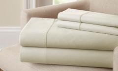 400 Thread Count Single Hole Hem Sheet Set 100% cotton - Linen