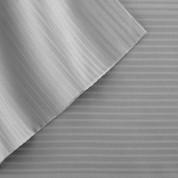400 Thread Count Pinstripe Sheet Set 100% tencel - Silver