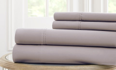 600 Thread Count Solid Sheet Set 100% cotton - Platinum