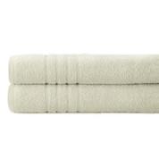 Spa Collection 2 piece OVERsized bath towel SET - Ivory