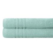 Spa Collection 2 piece OVERsized bath towel SET - Sky