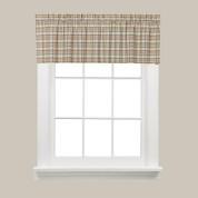 Dexter Kitchen Curtain Valance - Green