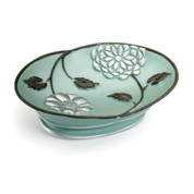 Avanti Soap Dish - Aqua from Popular Bath