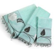 Avanti 3 piece towel SET - Aqua from Popular Bath