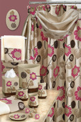 Lillian Shower Curtain & Bathroom Accessories from Popular Bath