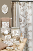Maddie Shower Curtain & Bathroom Accessories from Popular Bath