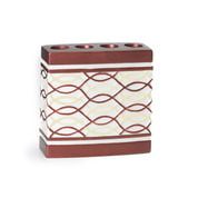 Harmony Toothbrush Holder - Burgundy from Popular Bath