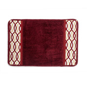 Harmony Bath Rug from Popular Bath - Burgundy
