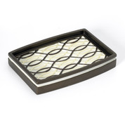 Harmony Soap Dish - Chocolate from Popular Bath