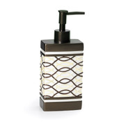 Harmony Lotion Dispenser - Chocolate lotion dispenser from Popular Bath