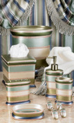 Contempo Bathroom Accessories - Blue from Popular Bath