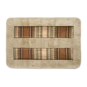 Contempo Bath Mat Rug - Multi
