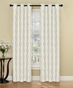 Calcutta Grommet Top Curtain Pair - Beige