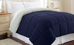 Alt Down Reversible Comforter - Eclipse/Silver