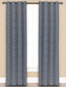 Halo Grommet Top Curtain Panel - Atlantic from Saturday Knight on Linens4Less.com