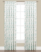 Gentle Wind Rod Pocket Curtain Panel from Saturday Knight (2 panels shown)