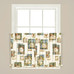 Nature's Hope Kitchen Curtain tier from Saturday Knight