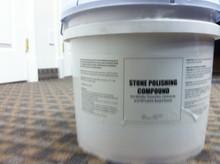 Marble Polishing Compound 25lb Bucket