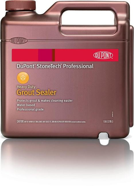 Dupont Heavy Duty Tile And Grout Cleaner StoneTech Grout Sealer - Gallon - Tri-Point Professional, Inc.
