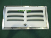 Dometic 8030211322 RV Refrigerator Lower Side Vent White