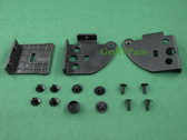New - Dometic | 2932750124 | RV Refrigerator Door Reversing Kit Black