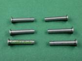 Dometic 143002P053 RV A&E Awning Semi-Tube Rivets 6 Pk