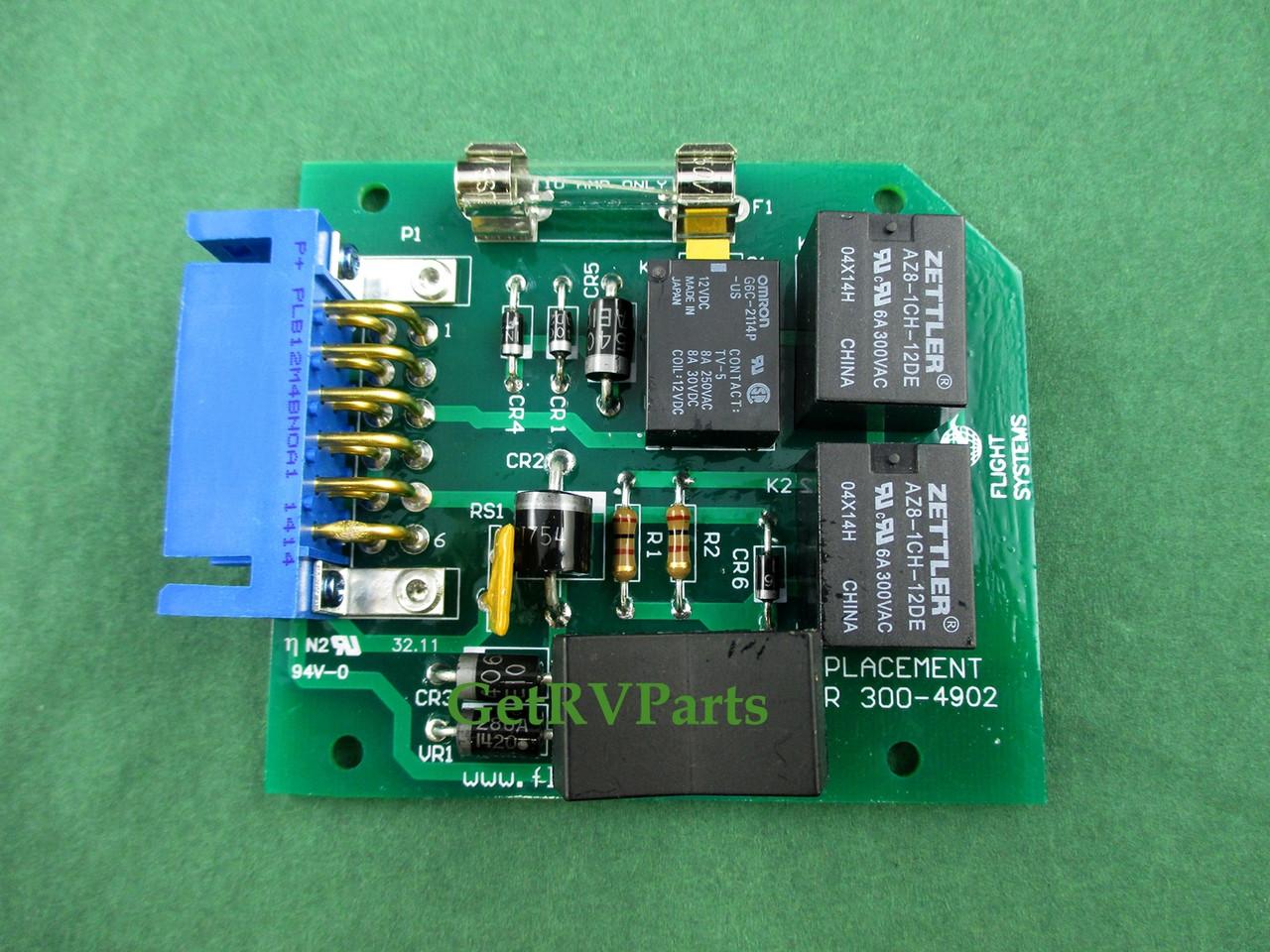 Onan Generator Wiring Diagram 300 3056 Board Start Building A Rv Remote Aftermarket 4902 Circuit Flight Systems Rh Getrvparts Com Switch