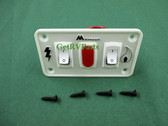 Atwood 91230 RV Water Heater 12VDC Dual Panel Switch Kit
