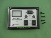 Intellitec | 01-00066-007 | Battery Disconnect Panel Dual Switch With Voltmeter