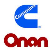 Onan Cummins A030W739 HGJ Generator Access Door Complete