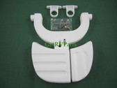 Thetford | 33198 | RV Toilet Aqua Magic IV Foot Pedal White