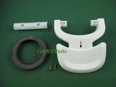 Thetford 34112 Aqua Magic Style RV Toilet Pedal Kit White