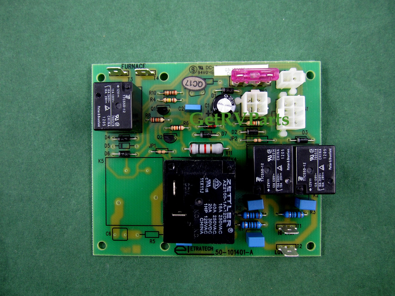 Dometic 3106996022 Rv Ac Air Conditioner Circuit Relay Board Duo Therm Wiring Diagram