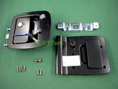 RV Entry Door Lock 013-257 Replaced L300 Barman L-300 Black