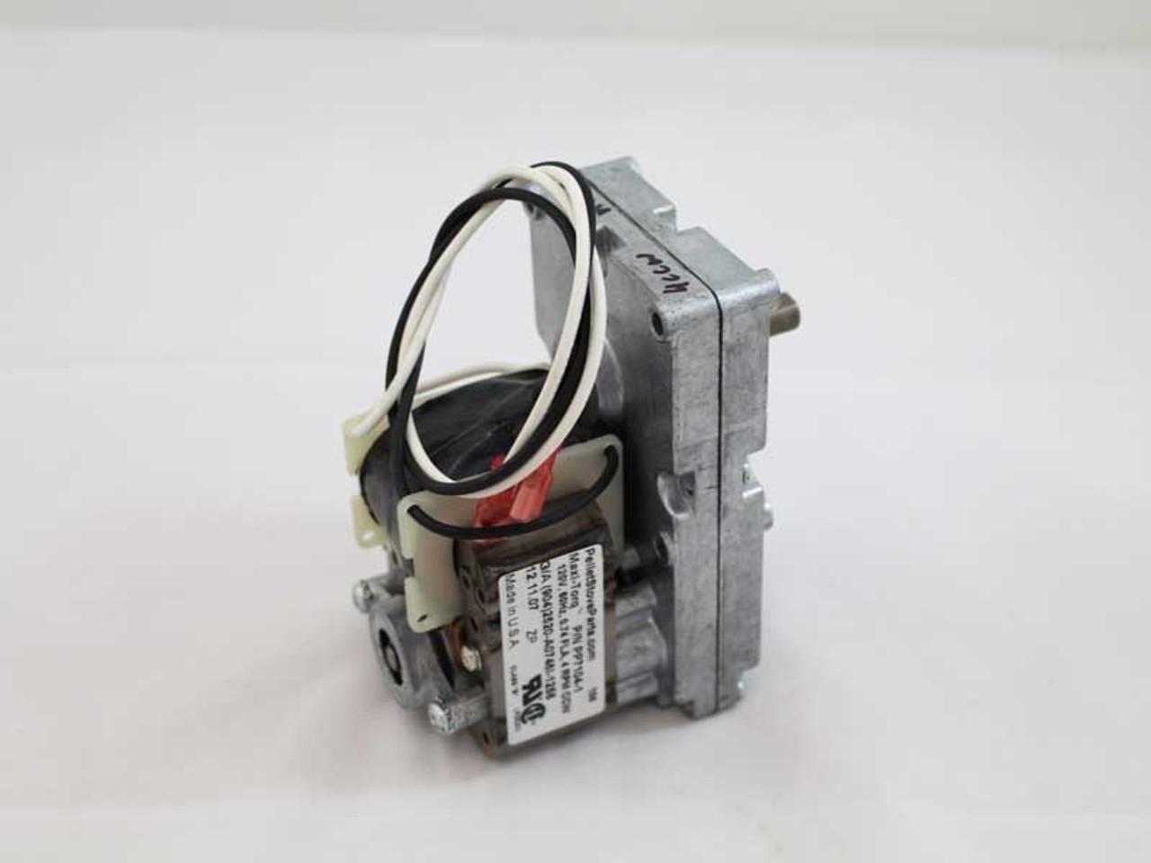 Maxi Torq 4rpm Ccw Auger Motor For Harman Pellet Stoves