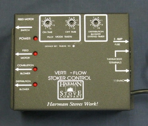 Pel Pro I Vf3000 And Magnum Stoker Timer Control Box 3