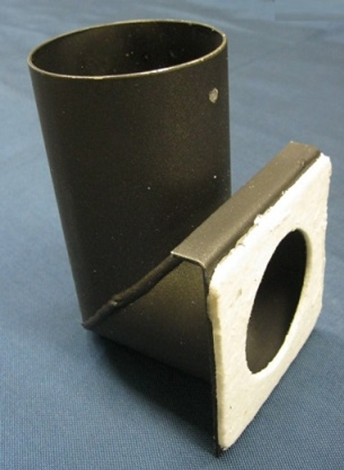Exhaust 90 Degree Starter Elbow for Enviro Empress Insert Pellet Stoves  (50-1395)