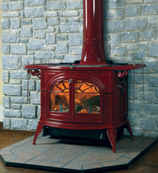 Vermont Castings Defiant Wood Stoves - Free shipping on orders over $49