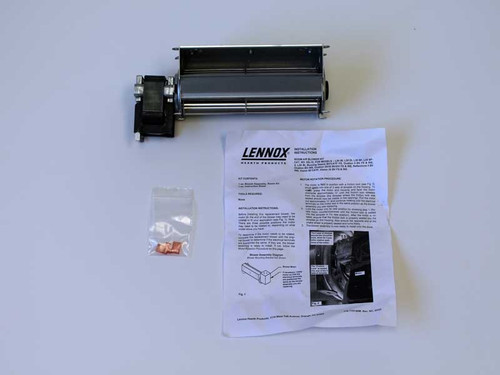 Lennox Gas Fireplace Blower Assembly 52l19