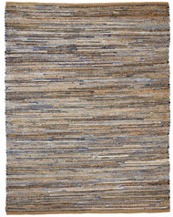 American Graffiti Denim & Jute Rug - 9' x 12'