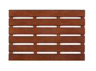 """Bamboo Bath & Sauna Mat Walnut - 16"""" x 24"""""""