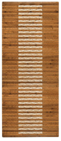 "Bamboo Kitchen & Bath Mat Walnut  - 20"" x 48"""