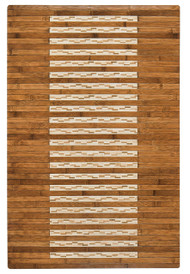 "Bamboo Kitchen & Bath Mat Walnut  - 24"" x 36"""